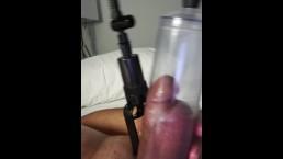 Pumping dick and balls