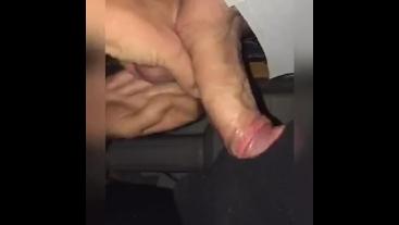 Massive cock gloryhole