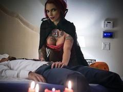 MYLF - Hot Vampire Sucks Fat Cock