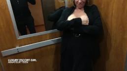 slut hot girlfriend fucked in public and take massive cumshot. Amateur