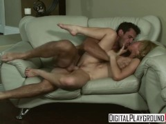 Digital Playground - Kayden Kross rides cock on the first date
