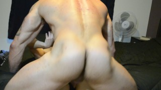 Real Hot couple, Incredible Bodies! Oldman analfucking
