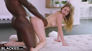 BLACKED Rich girl loves black cock