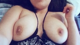 Teen with big natural tits