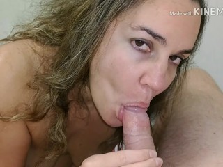 Homely MILF sucks and fucks for new dress in mall dressing room