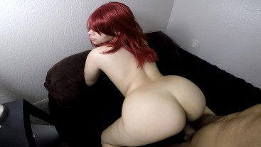 Love sucking & fucking until he cums in my tight hole (HOT blowjob)