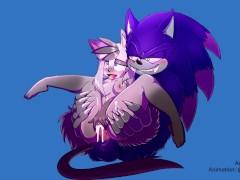 Sonic the Werehog Fucks Cute OC Emyko
