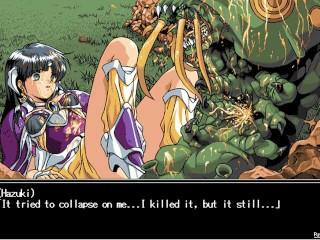 Toushin Toshi 2 #7 : Kraia's Sacrifice ; Hentai game playthrough