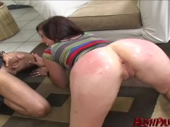 PAWG Danae Denton picked up and cock stuffed doggystyle