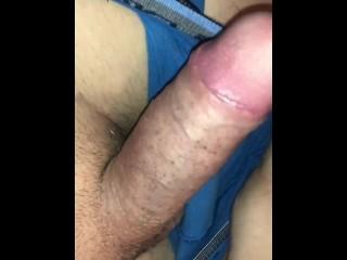 Grosse ejaculation après le travail