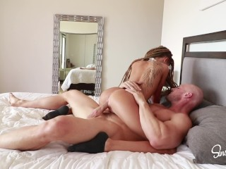 Johnny Sins - Fucks Tiny Flexible Teen that Loves Big Dick!