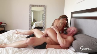 Johnny Sins - Fucks Tiny Flexible that Loves Big Dick!