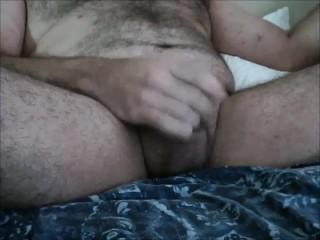 Bear Slams and drips cum