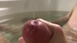 Slow Gloopy POV Bathtub Cum