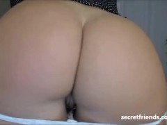 Round milf ass PAWG on cam
