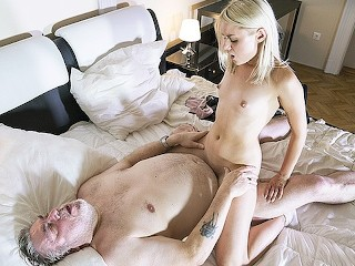 What Happens When Your Hiv Positive Fucking, Old man has great sex with his younger girlfriend In the morning Blonde Blowjob
