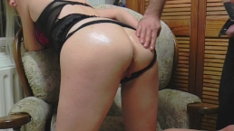 Hot british milf fucked in the ass to orgasm