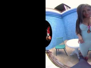 VRLATINA.COM – Big Tits Latina In VR