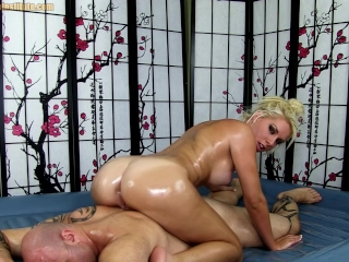 Oil Massage Sex with Cherry Morgan