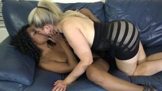 Session lezbo hot mdds tongue interracial fuck girl blonde