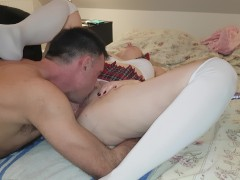 He love lick my pussy :)