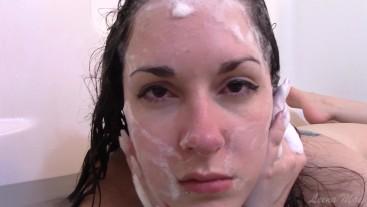 Hair Washing and Nose Play