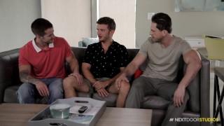 NextDoorStudios Quentin Gainz Roman Todd & Tyler Carver BAREBACK