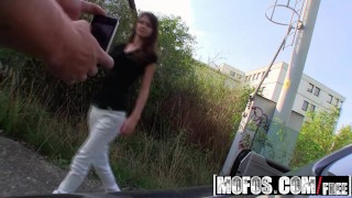 Mofos - Skinny euro teen Aimee Ryan will fuck for cash