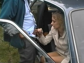 Lucero desnuda old grey haired guy fucks younger woman outdoors, retroamateurporn petite retro amate