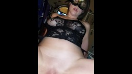 PAWG too drunk to ride cock...squirting orgasm
