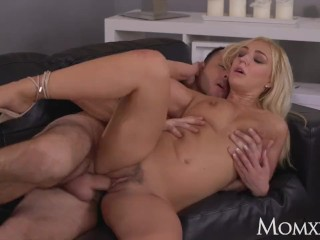 Marie phoenix video mom sexy british blonde in sexy evening wear takes big bendy cock, momxxx old mo