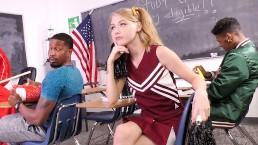 Cheerleader Teen Hannah Hays Wants Football Players' BBC