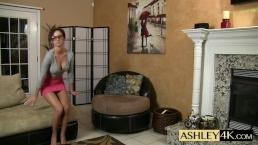 Sexy Boss Blowjob Ashley Sinclair