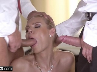 Best free hardcore porn websites glamkore czech blonde with big tits has a dp threesome, glamkore bang european blonde czech big tits