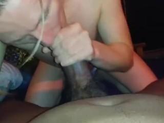 Biggest cock I've sucked.