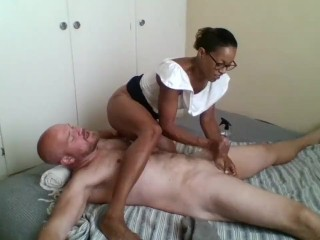 Indisk moden anal sex