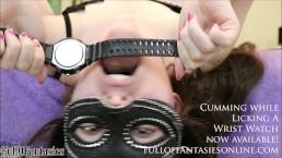 Cumming while Licking a Wrist Watch (teaser)