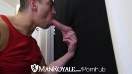 ManRoyale Mystery Man Gloryhole FUCK