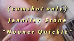 "B.B.B preview: Jennifer Stone ""Nooner Quickie"" AVI high def no SloMo cumsho"