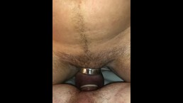 Daddy fuck me while locked in chastity