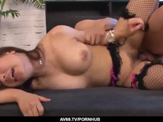 Sexy scenes of Japanese hardcore with busty Buruma - More at 69avs.com