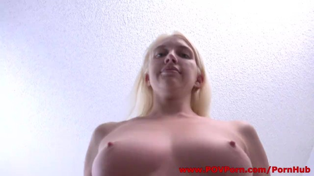 Stella Luv casting audition for first-time sex scene on POVPorn