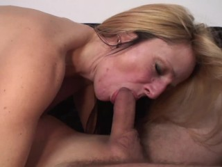 Sex Video Short Clip Fucking, Busty Mature Blonde MILF Wants To Get Fucked Hard by her neighbour
