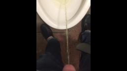 Boy pissing