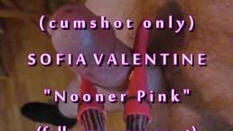 "B.B.B.preview Sofia Valentine ""Nooner Pink"" no slo-mo AVI high def cumshot"