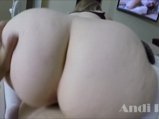CURVY BIG TITTY ANDI RAY FUCKS A MAN ALMOST TWICE HER AGE