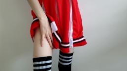 Cheerleader Ruins Her Own Orgasm || Loud, Desperate Moaning-Camsex99