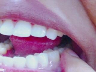 Teeth Fetish Examination