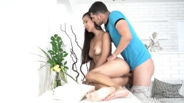 Creampie-Angels.com - Anya Krey - Head says no but pussy says yes