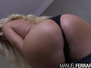 Proxy Pagie Fucking, Manuel Ferrara- Summer Brielle Buxom Blonde Glazed Big ass Big Dick Big